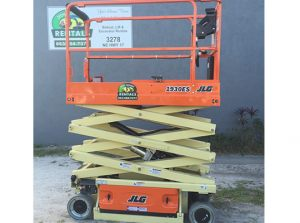 JLG Scissor Lift 19ft-platform